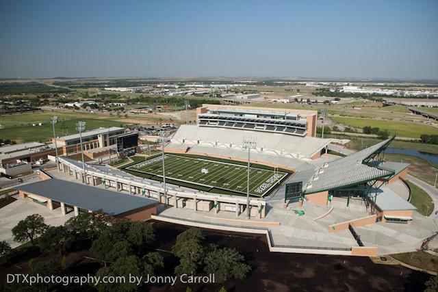 New UNT stadium Apogee