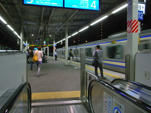 横須賀線武蔵小杉駅