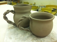 Pitcher and Mug