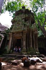 Ta Prohm Kids (chillveers15) Tags: trees ancient ruins cambodia pentax sigma jungle 1020mm angkor wat ta carvings prohm etchings kx aspara
