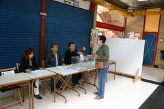 Elecciones al Parlamento Europeo 2009 (Ayuntamiento de Ermua  Ermuko Udala) Tags: espaa bizkaia elecciones urna ermua plazadelmercado parlamentoeuropeo robertotejada
