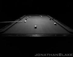 """Break and Run"" (Jehu10842) Tags: pool billiards 4x5 delta100 rodinal chamonix viewcamera schneidersuperangulon"