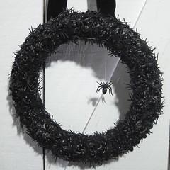 Iron Craft Challenge #41 - Spider Wreath
