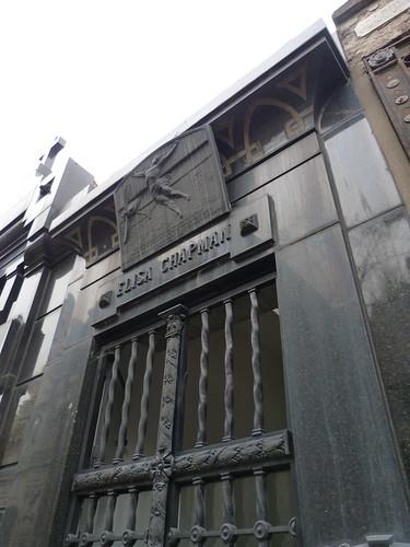 Chapman Tomb, Recolata Cemetry