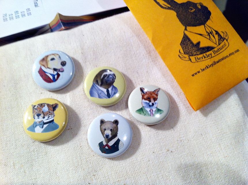 berkley buttons