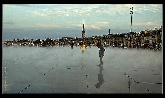 Reflejos entre la niebla