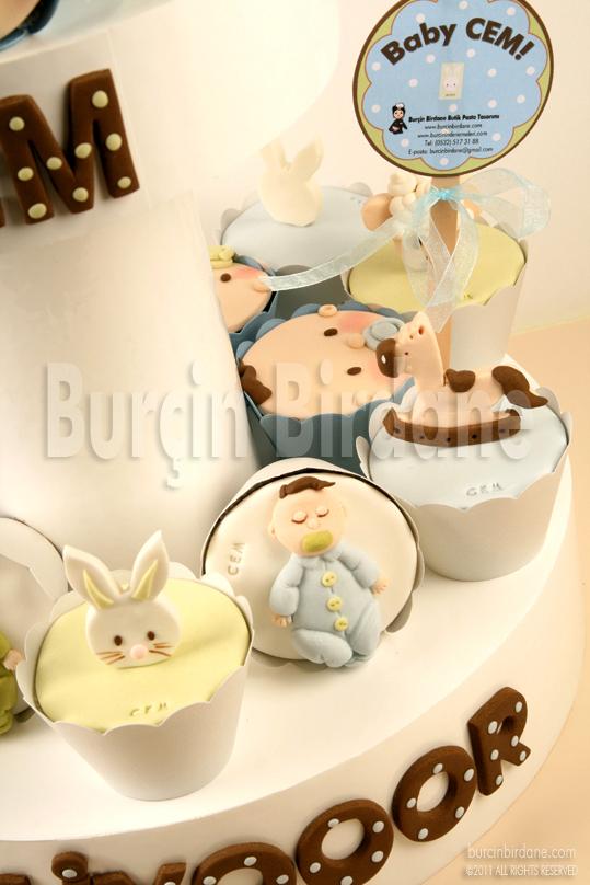 Baby Shower Cupcake Standi 2