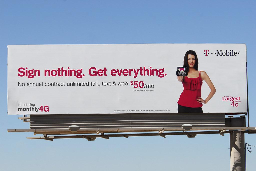 T-Mobile Billboard - Santan Freeway Loop 202, Chandler, AZ