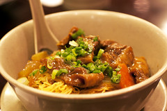 curry beef stew @ hk wonton garden