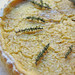 farro pie with lemon and thyme custard