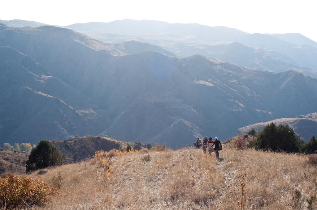 In Khosrov national park near Garni