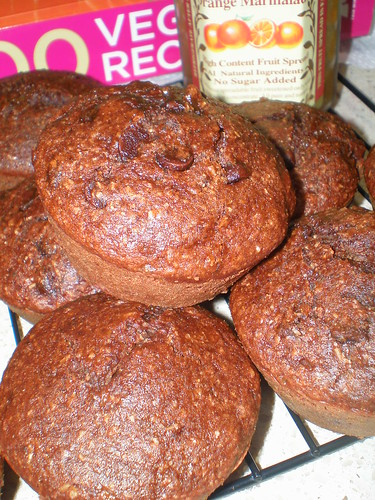 Chocolate Orange Marmalade Muffins