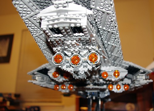 Super Star Destroyer - engines closeup 01