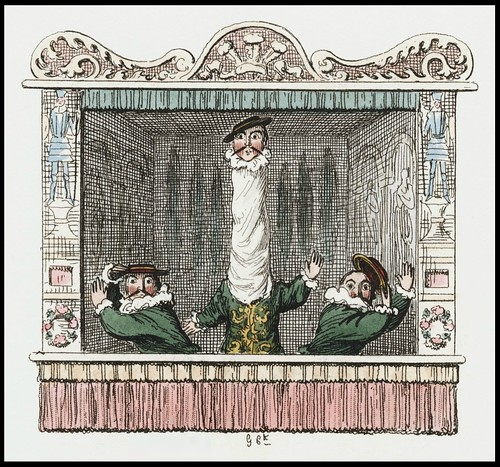 Punch and Judy by George Cruikshank, 1828 l