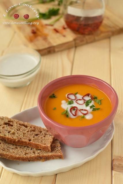 Zuppa di zucca Thai