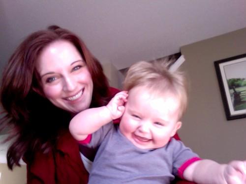 happiest baby on the block