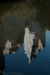 Manhattan Skyscrapers By The Pond (nrhodesphotos(the_eye_of_the_moment)) Tags: nyc lake water glass buildings reflections pond cityscape shadows skyscrapers upsidedown centralpark manhattan ripples impressionistic reflectsobsessions nrhodesphotosyahoocom wwwflickrcomphotostheeyeofthemoment mg3653nhr
