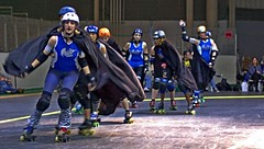 harry potter night @ the derby (armykat) Tags: rollerderby rollergirls canton baltimoremaryland flattrack charmcityrollergirls mobtownmods wftda nightterrors duburnsarena 10222011