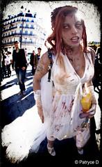 Zombie Walk (patryce D) Tags: paris blood d zombie mort fear sang cicatrice maquillage zombi resident mortvivant zombiewalk2011 evilevildeathundeadpatryce