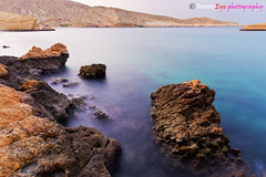 Qantab - The Symphony of Rocks . . . (Beauty Eye) Tags: blue sea mountain seascape beach rock canon landscape sand rocks waves dream om oman muscat qantab    600d   13mm   1024mm    tamr0on