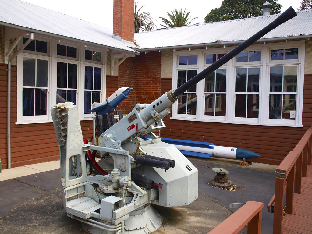 40/60 Bofors Anti-Aircraft Gun