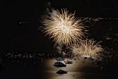 Ferragosto a Positano (Salvatore Vitale) Tags: nikon long exposure italia campania fireworks national positano geographic feu dartifice fuegos  artificiales artificiali fuochi  d3000  55300mm