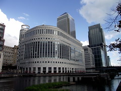 Canary Wharf (CoasterMadMatt) Tags: city uk greatbritain england sculpture london english photography photos unitedkingdom britain pierre photographs gb british vivant towerhamlets capitalcity 2011 pierrevivant coastermadmatt canarywharfart