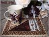 Mais um para minha coleção pessoal! (**DASDE Artes!**) Tags: cafe cappuccino mugrug tapetedecaneca