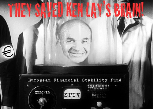 THEY SAVED KEN LAY'S BRAIN! by Colonel Flick