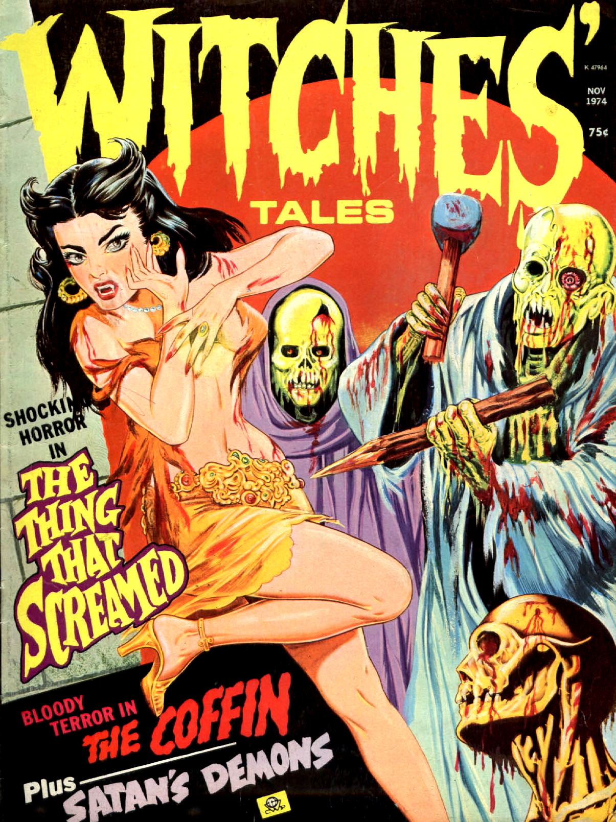 Witches' Tales Vol. 6 #6 (Eerie Publications 1974)