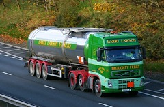 VOLVO FH - HARRY LAWSON Broughty Ferry angus Scotland (scotrailm 63A) Tags: trucks tankers lawson lorries