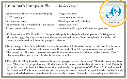 My Old Family Recipe for Pumpkin Pie from Scratch