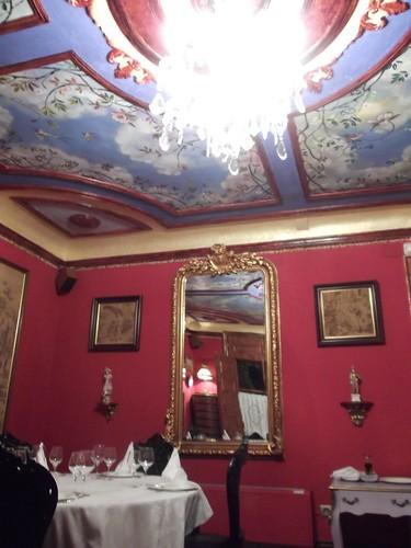 Zaragoza | Torreluna | Interior del Restaurante Trampantojo