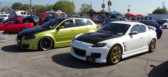 RX8 and A3