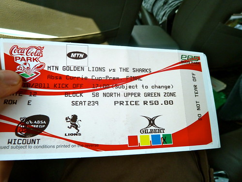 The very expensive ticket for the final
