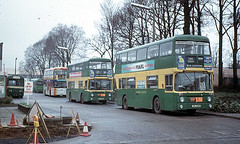 ANs Stevenage Garage mid 1970s (national_bus_510) Tags: nbc parkroyal nationalbuscompany leylandatlantean londoncountrybusservices lcbs pdr1a1special