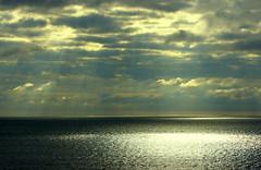 A mighty maze of mystic, magic rays! (SteveJM2009) Tags: uk light sea london television clouds october anniversary celebration bbc dorset alexandrapalace rays 75th crepuscular stevemaskell 2011 hengistburyhead magicrays