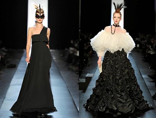 Gaultier-2011 sin-tirantes-un-solo-hombro
