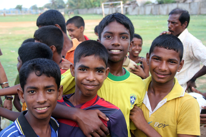 Young Football Players, Jaffna, Sri Lanka