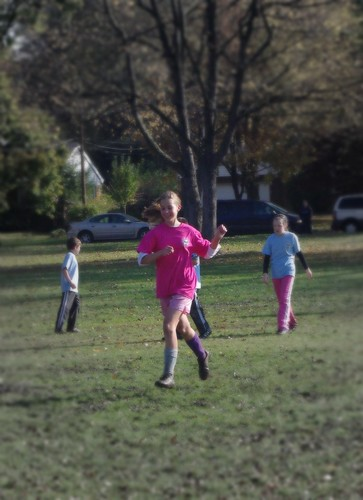 Izzy playing soccer 2011
