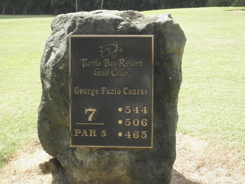 Turtle Bay Colf Course 190b