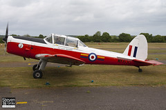 G-BXDG - WK630 - C1 0644 - Private - De Havilland DHC-1 Chipmunk 22 - Panshanger - 110522 - Steven Gray - IMG_4075