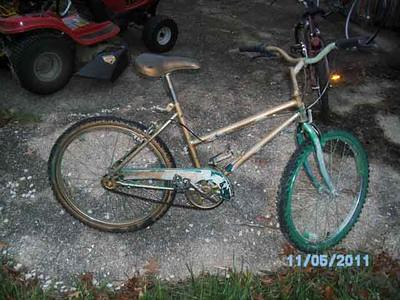 26 inch wheeled 1-speed