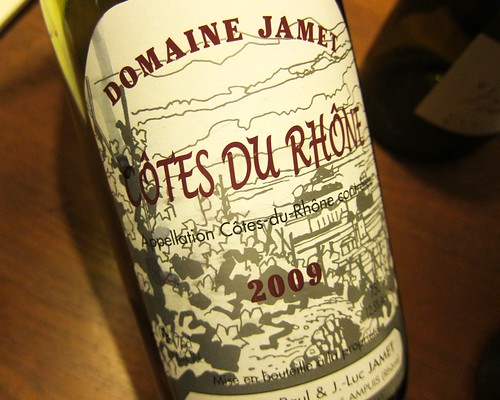 2009 Cotes du Rhone Domaine Jamet