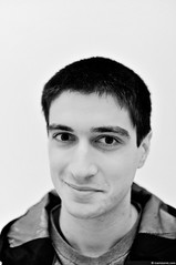 InsideOut Project (part 2) (mariotomic.com) Tags: boy portrait bw smile serbia belgrade sigma30mmf14exdchsm