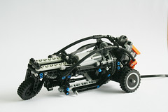 carver_skeleton (vmln8r) Tags: holland netherlands dutch power control lego top gear technic remote carver functions leaning rc motorized threewheeler