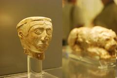 Ivory head Mycenae (konde) Tags: museum ivory greece figurine mycenae ancientgreece mykene archaeologicalmuseumofmycenae
