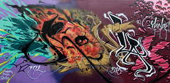 Well Connected Festival | IRONLAK by YANOE. (Ironlak) Tags: graffiti dts ironlak losangelesgraffiti yanoe ironlaklosangeles ironlakla wellconnectedfestival