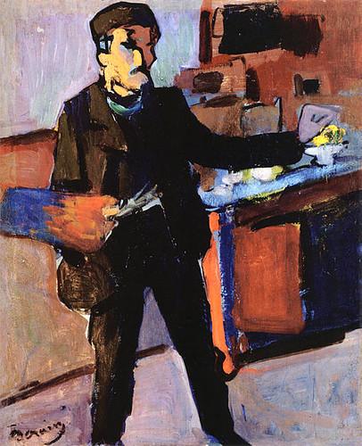 Self Portrait by Andre Derain