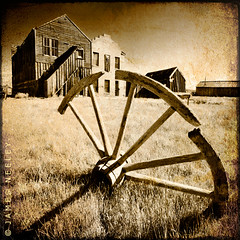 Looking Back (James Neeley) Tags: california landscape ghosttown bodie jamesneeley texturedimage